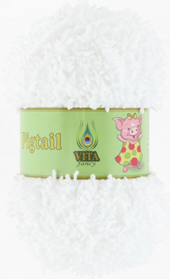 Vita Fancy Pigtail Белый
