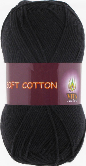 Vita cotton Soft cotton Черный