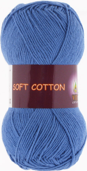 Vita cotton Soft cotton Ярко синий