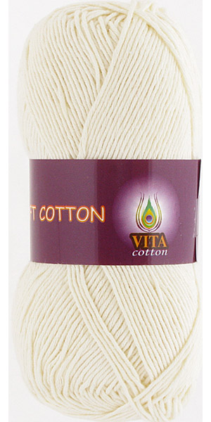 Vita cotton Soft cotton Молочный