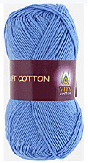 Vita cotton Soft cotton Голубой