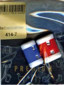 414-7 Addi счетчик рядов, пластик, 2 шт