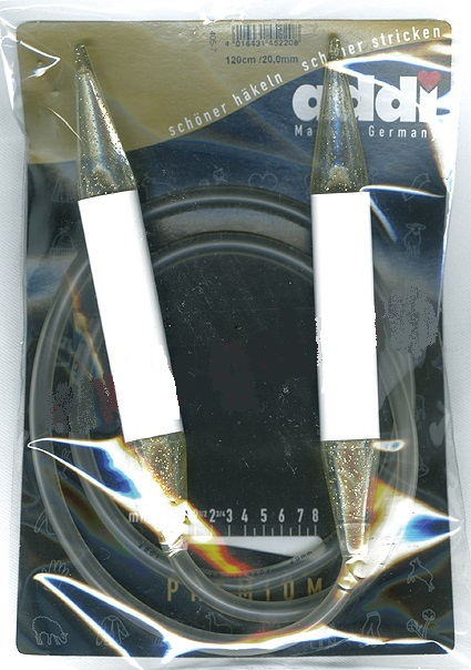 405-7-120/20-120 Addi круговые, ПЛАСТИК, №20, 120 см.