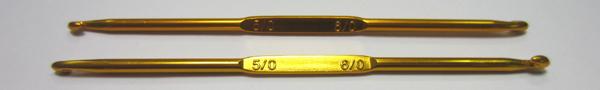 Крючок двухсторонний мет-й № 5,0/6,0 Упаковка 5шт.