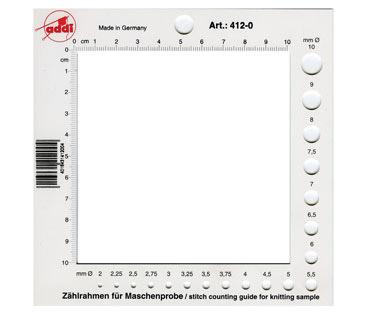 412-0 Счетная рамка для спиц Addi